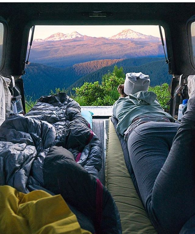 Car camping with a view in the Pacific Northwest  Photo: @adammckibben #wildernessculture
