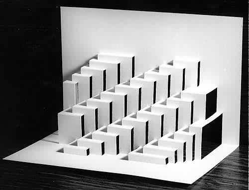 25 best ideas about paper architecture on pinterest for Architecture origami