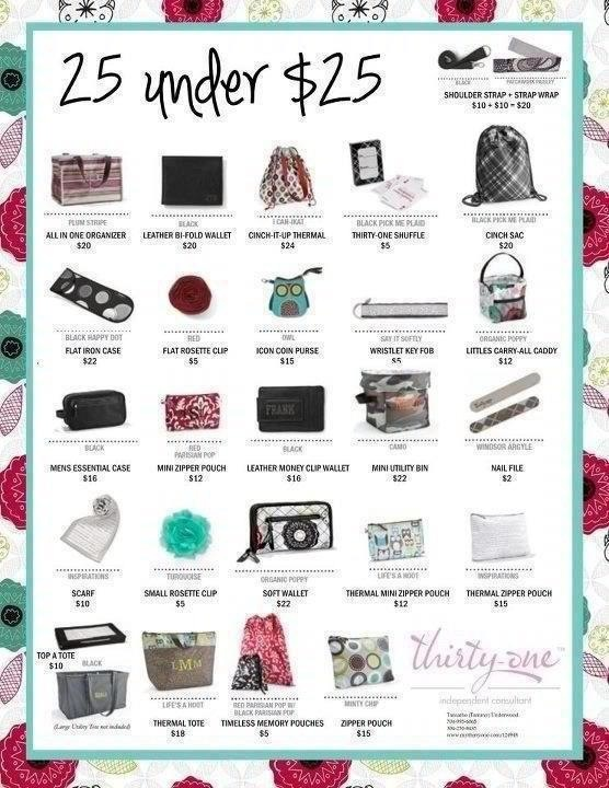 25 Gift Ideas Under 25 Thirty One Bags Im Excited