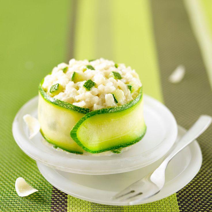 Découvrez la recette Risotto aux courgettes sur cuisineactuelle.fr.