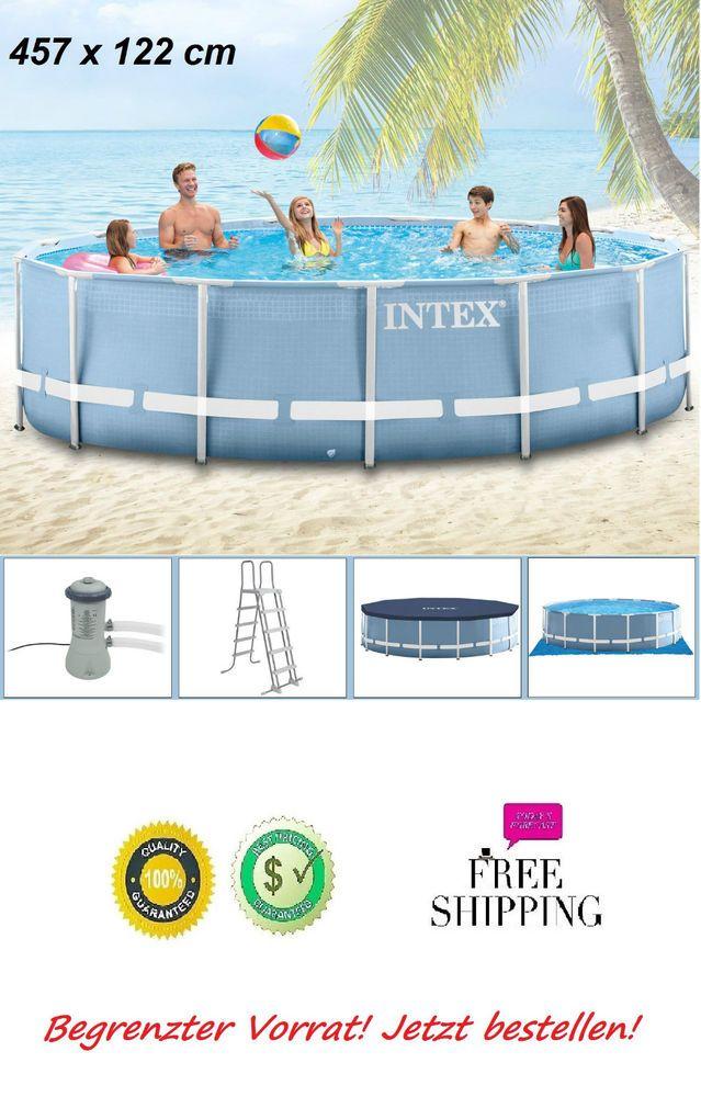 Die besten 25 pool komplettset ideen auf pinterest for Garten pool 457x122
