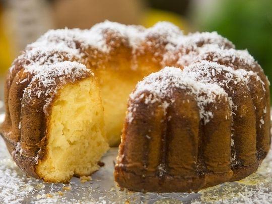 Бон Апети Кейк с ананас и кокос