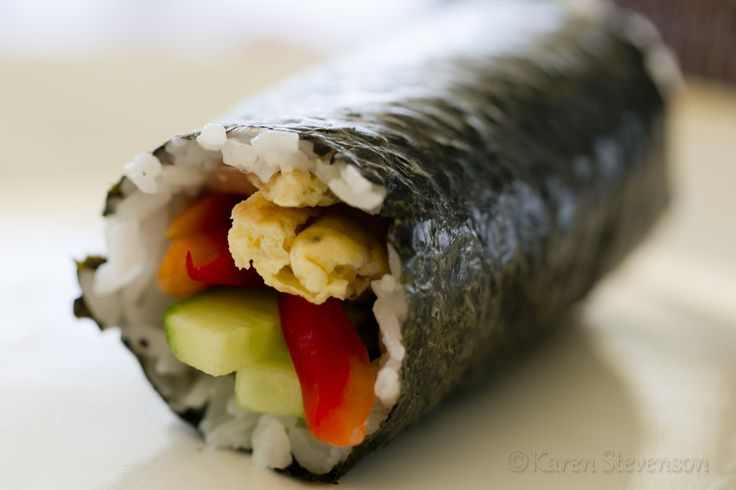 Make your own Sushi rolls for dinner!  A fun way to get the whole family involved, making it the way they like it.  I used to be scared of making sushi, but then discovered how easy it is!   http://www.foodgloriousfriendlyfood.com/1/post/2013/02/sushi-for-dinner.html