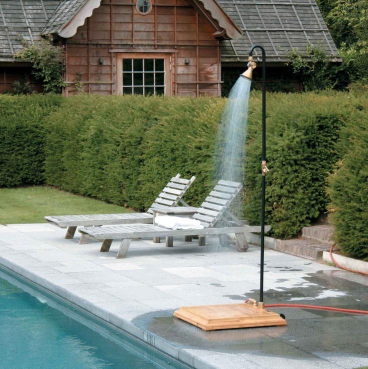 14 best outdoor world images on pinterest janus outdoors and backyard furniture - Duchas piscinas exterior ...