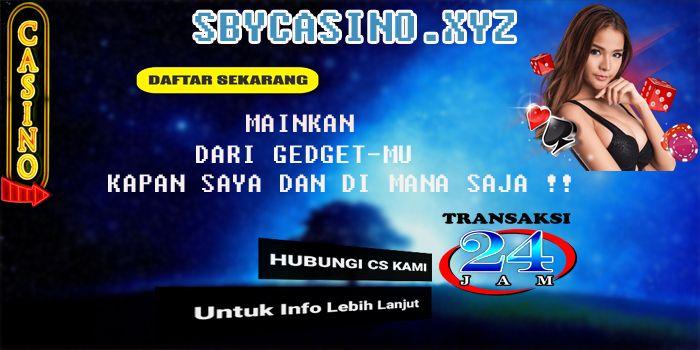 Sby Casino Mari Bergabung Bersama Kami Di Sbycasino Xyz Situs Impian Para Pecinta Dan Peminat Taruhan Online Segera Daft Poker Blackjack Indonesia