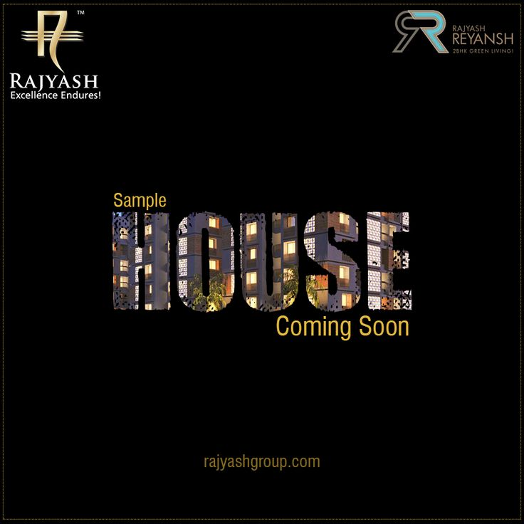 Our commitment to luxury is taking a new shape. Sample house of #RajYashReyansh Coming soon!  #SampleHouse #RajyashCity #RajYashGroup #RajYash #SouthVasna #Ahmedabad