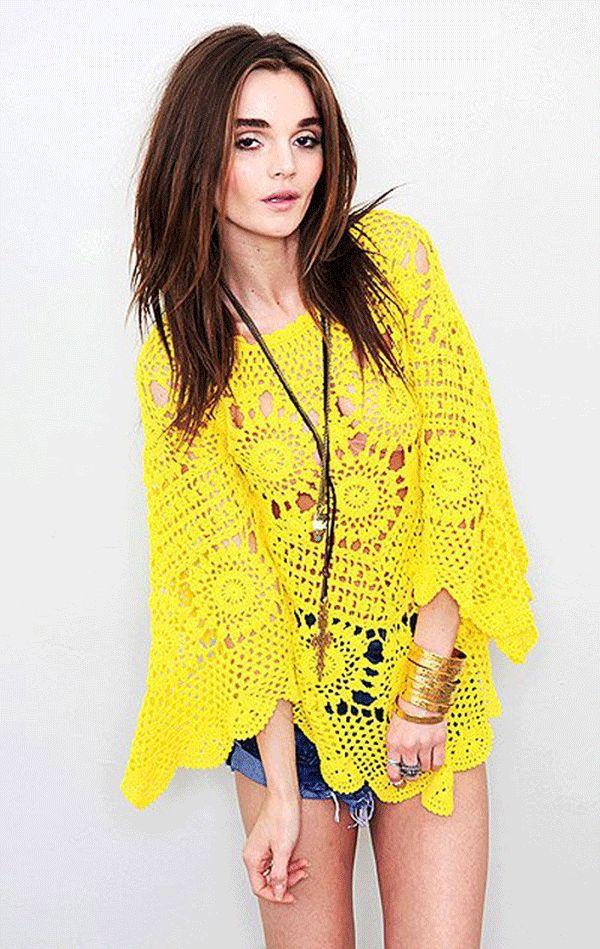 Wildflower Crochet Dresses Patternhttp://beautifulcrochetstuff.com/wildflower-crochet-dresses-pattern/