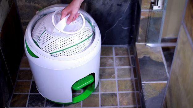 Drumi, la lavadora a pedales que lava la ropa sin electricidad