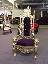 PRESALE Lord Raffles Wedding Salon Event Statement King Lion Throne Chair