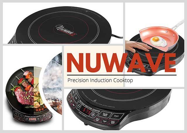 Nuwave Precision Induction Cooktop In 2020 Nuwave Induction Cooktop Nuwave Cooktop