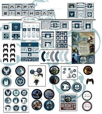 Halo Party Supplies