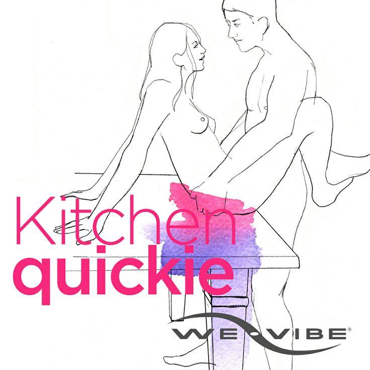 Kitchen quickie.