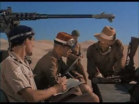 the first episode of The Rat Patrol. A group of men who cause trouble to the Germans in heavily armed jeeps