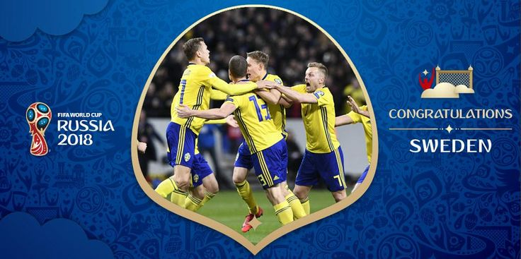 QUALIFIED!💪  Congratulations, Sweden🇸🇪!   They make it to a #WorldCup for the first time since 2006 #WCQ #parasino  http://parasino.com/en/landing