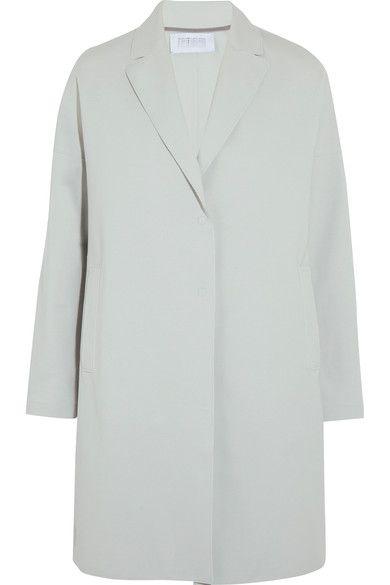Harris Wharf London cotton-blend coat