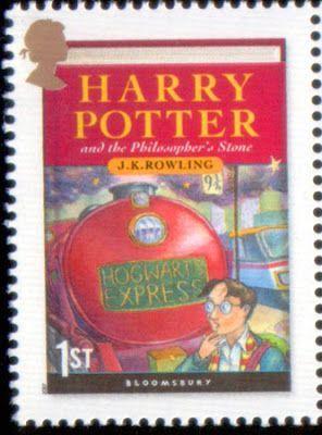 """Reino Unido - Portada del primer libro de J.K Rowling """"Harry Potter y la Piedra Filosofal"""""""
