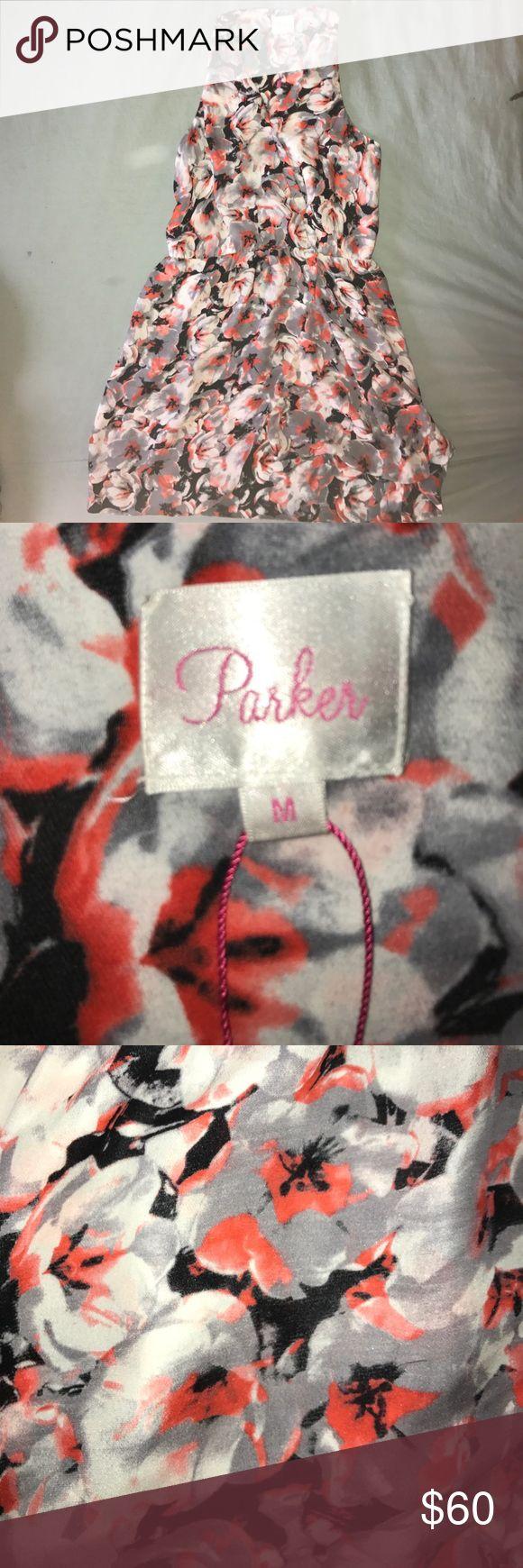 Parker Dress Parker Floral Wrap Dress, Medium, new condition Parker Dresses Mini