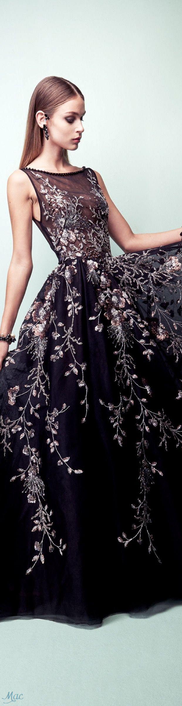 Spring 2017 Ready-to-Wear Georges Hobeika #mallchick #fashion