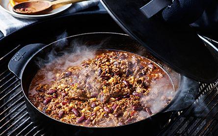 Chili con carne, Webers grillrecept