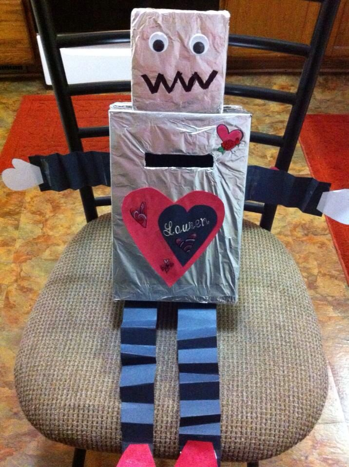 Robot Valentine's Day Box