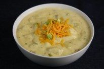Low Sodium Cheesy Potato Soup Recipe