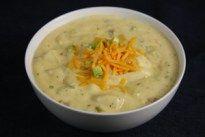 Low Sodium Cheesy Potato Soup Recipe