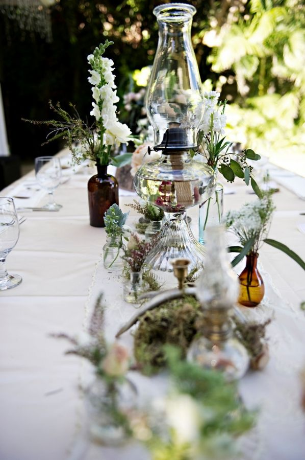 25 Best Ideas About Oil Lamp Centerpiece On Pinterest