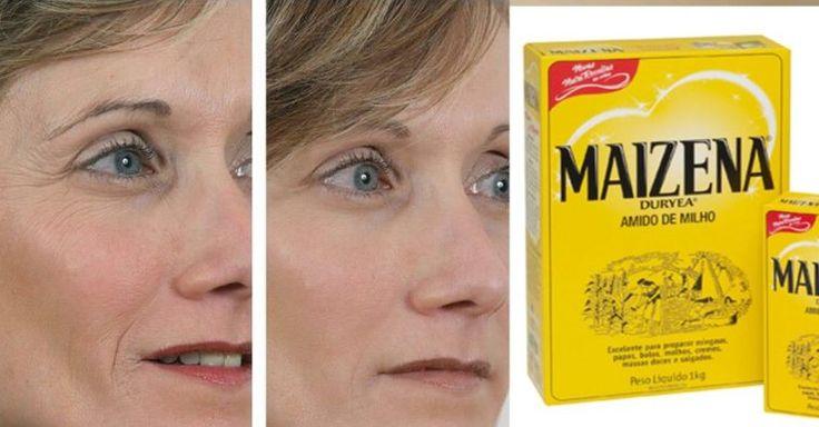 Tratamento milagroso: receita caseira com maisena com efeito botox para…