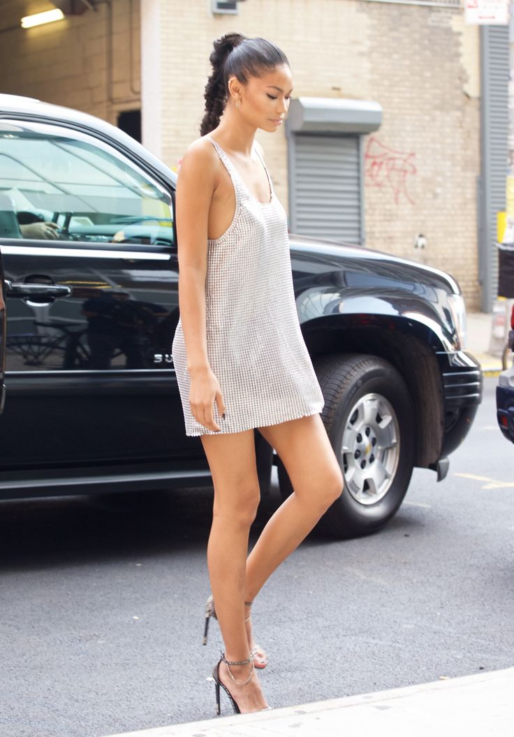 celebritiesofcolor: Chanel Iman out in NYC | Ecstasy Models