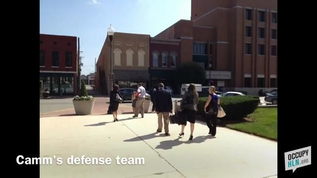 David Camm's criminal defense team walking into the courthouse  http://www.occupyhln.org/other-cases/david-camm-found-guilty-3rd-trial/