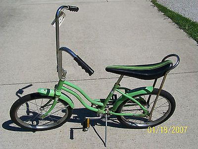 """""""Dill Pickle"""" Vintage Antique Huffy Girls Dragster Bicycle Bike Rideable Cool Ride Low Price 