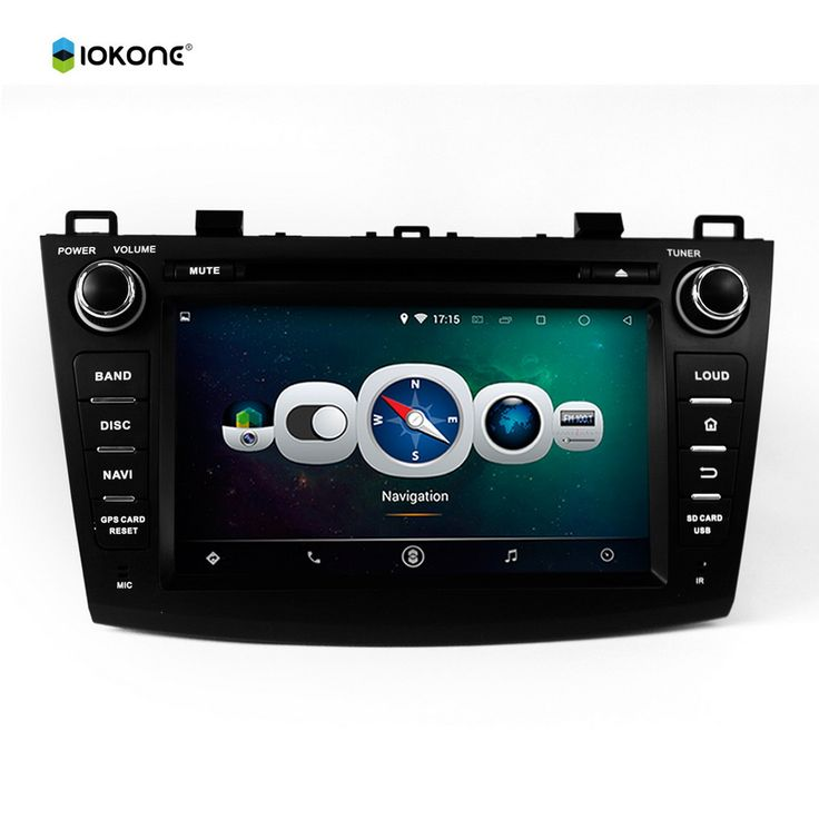 """8"""" Android Quad core HD mirror link Car DVD Radio Player Stereo for MAZDA 3 2009-2012 with rotating UI RDS WIFI SWC GPS CANBUS"""