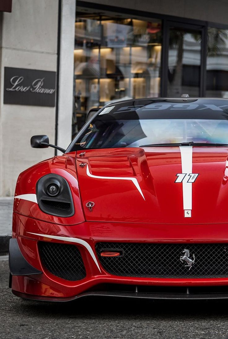 Super #Ferrari 599 XX.