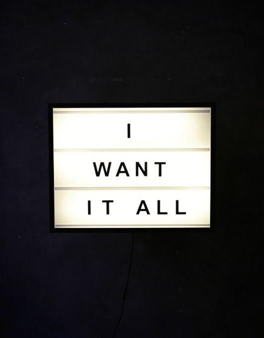 i want it all // bxxlght // sfgirlbybay
