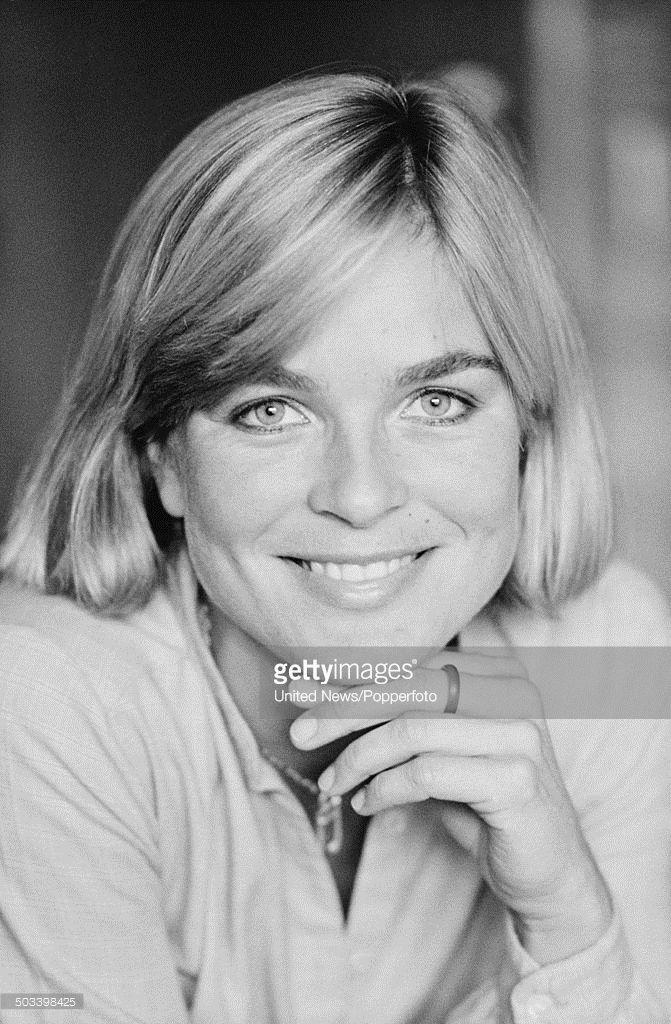 Dutch actress Claire Oberman who plays Australian nurse Kate Norris in the television drama series 'Tenko' posed in London on 24th September 1984.