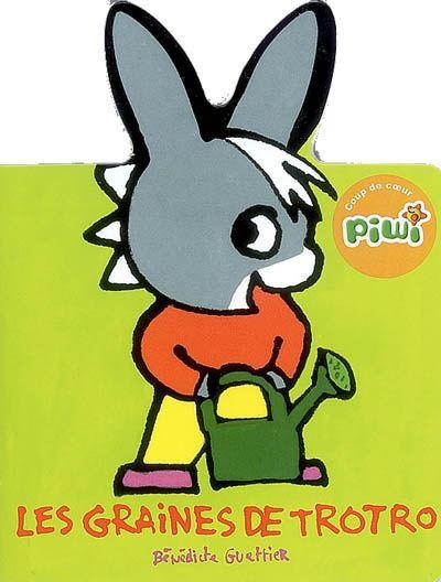 Trotro plante des petites graines, il veut faire pousser des fleurs pour composer un bouquet. Trotro les arrose soigneusement, mais quand elles finissent par pousser, ce sont des carottes. Il va pouvoir manger son bouquet.
