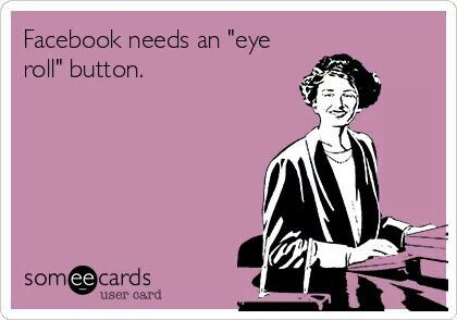 I also need an eyeroll emoji!! Someone needs to get on that immediately!!!