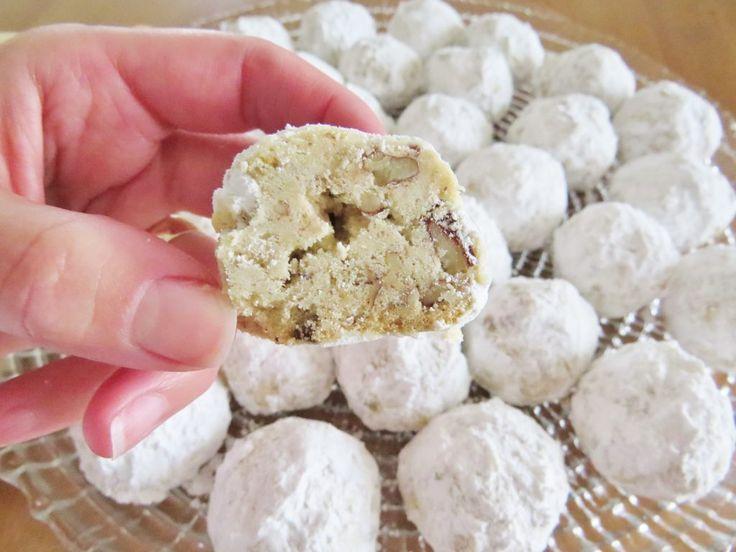 Mexican Wedding Cookies Danish Russian Tea Cakes Snowballs