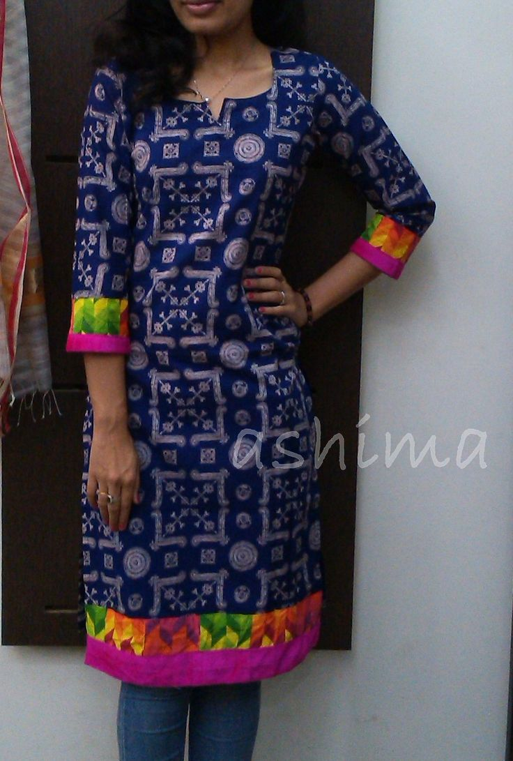 Printed Cotton Kurta-Code:2208150 Price INR:790/- All sizes available. Free shipping to all courier destinations in India. Online payment through PayUMoney / PayPal