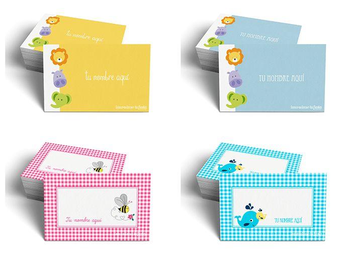 Lindas Tarjetas Personales. Hoy mi nuevo Catálogo con diseños para los niños!