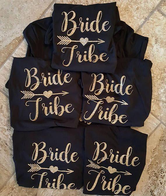 Bride Shirt-Bride Tribe-Personalized T Shirt-Bridal Party shirt-Bachelorette Shirt-Bride Tribe Shirt-Wedding Shirt-Wedding Gifts-Bridesmaid