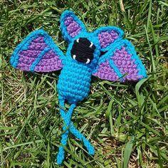 Ravelry: Zubat Pokemon pattern by Nichole's Nerdy Knots