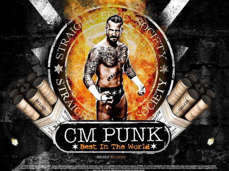 Punk Wallpapers - WWE Wallpaper (31689051) - Fanpop