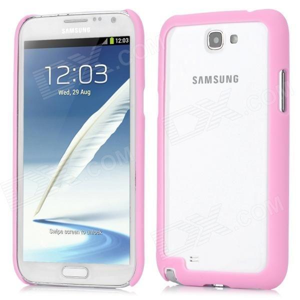 Защитный ABS-чехол для Samsung Galaxy Note 2 N7100 - цвет розовый