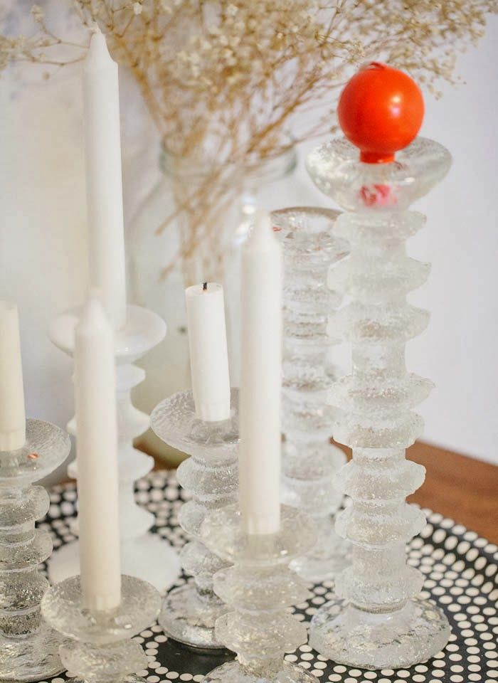 Sarpaneva candle holders via Cici Just about every Finnish home has these.