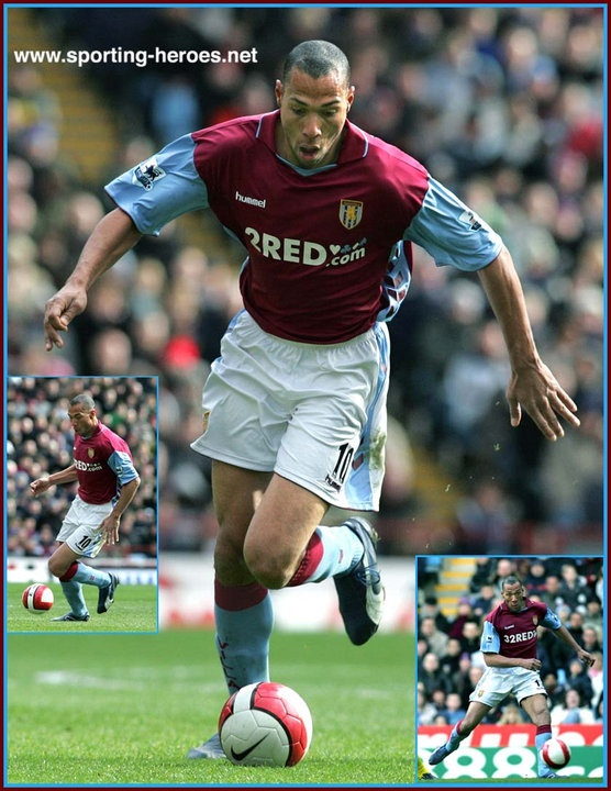 John CAREW Aston Villa