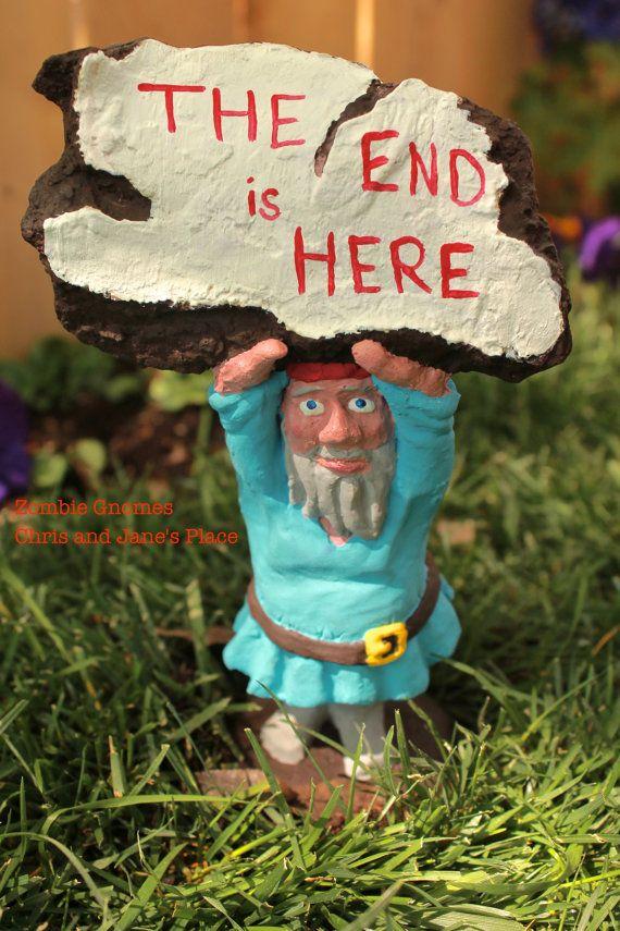 Zombie Gnomes:  Doomsday Dan