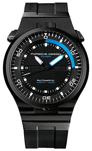 Porsche Design Leistung Diver Automatische schwarz PVD Ti...