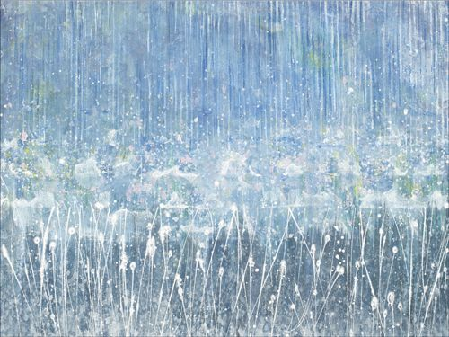 """Monsoon"" by Iris Grace, a 5-year-old girl with Autism & a spectacular talent for painting! #naturaltalent #painting"
