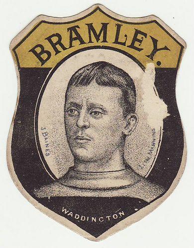 Baines Bramley vintage rugby card